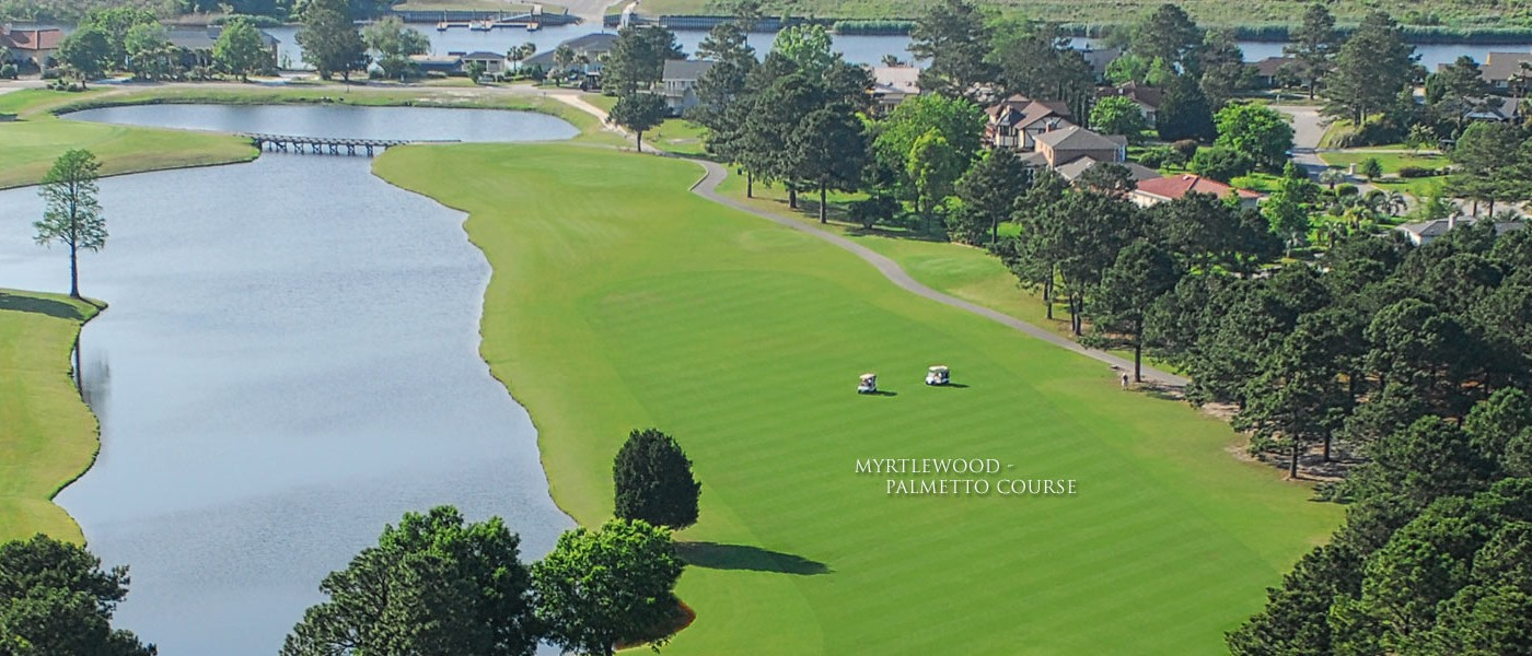 Myrtlewood Palmetto Tucked Away In The Heart Of Myrtle Beach Is Golf Course