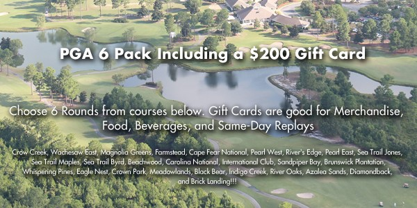 PGA 6 Including a $200 Gift Card
